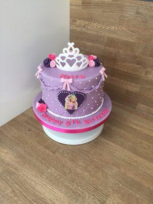 Princess Rapunzel Birthday cake